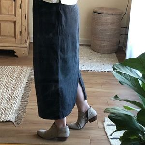 ⭐️ CP Shades hand dyed, maxi skirt with pockets ⭐️